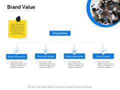 Label Building Initiatives Brand Value Ppt Pictures Slides PDF