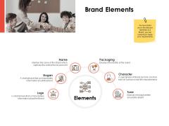 Label Identity Design Brand Elements Ppt PowerPoint Presentation Layouts Design Ideas PDF