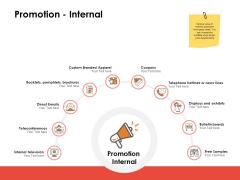 Label Identity Design Promotion Internal Ppt PowerPoint Presentation Layouts Model PDF