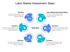 Labor Market Assessment Steps Ppt PowerPoint Presentation Icon Shapes Cpb