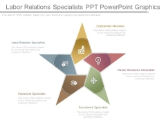 Labor Relations Specialists Ppt Powerpoint Graphics