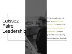 Laissez Faire Leadership Ppt PowerPoint Presentation Guide