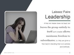 Laissez Faire Leadership Ppt PowerPoint Presentation Inspiration