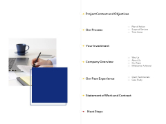 Landing Page Design And Optimization Table Of Contents Graphics PDF