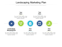 Landscaping Marketing Plan Ppt PowerPoint Presentation File Show Cpb Pdf