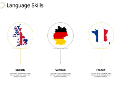 Language Skills Ppt PowerPoint Presentation File Guide