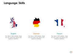 Language Skills Ppt PowerPoint Presentation Inspiration Show
