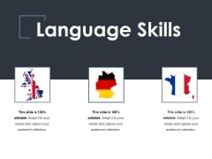 Language Skills Ppt PowerPoint Presentation Outline Model