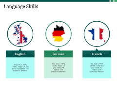 Language Skills Ppt PowerPoint Presentation Pictures Format
