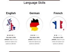 Language Skills Ppt PowerPoint Presentation Pictures Smartart