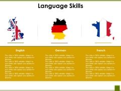 Language Skills Ppt PowerPoint Presentation Professional Design Ideas