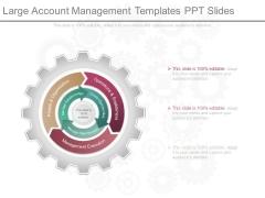Large Account Management Templates Ppt Slides