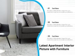 Latest Apartment Interior Picture With Furniture Ppt PowerPoint Presentation File Visual Aids PDF
