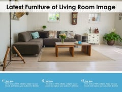 Latest Furniture Of Living Room Image Ppt PowerPoint Presentation File Slide PDF