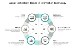 Latest Technology Trends In Information Technology Ppt PowerPoint Presentation Slides Graphics Pictures