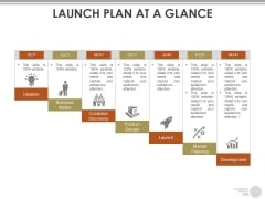 Launch Plan At A Glance Ppt PowerPoint Presentation File Mockup