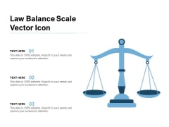 Law Balance Scale Vector Icon Ppt PowerPoint Presentation Slides Ideas