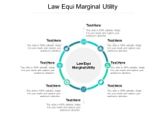 Law Equi Marginal Utility Ppt PowerPoint Presentation Outline Professional Cpb