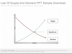 Law Of Supply And Demand Ppt Sample Download