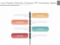 Law Practice Direction Example Ppt Examples Slides