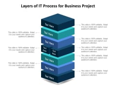 Layers Of IT Process For Business Project Ppt PowerPoint Presentation Infographics Design Ideas PDF