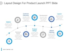 Layout Design For Product Launch Ppt Slide