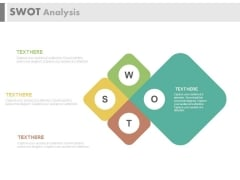 Layout Of Swot Analysis Diagram Powerpoint Template