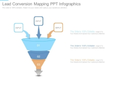 Lead Conversion Mapping Ppt Infographics
