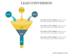 Lead Conversion Ppt PowerPoint Presentation Templates