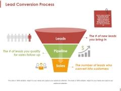 Lead Conversion Process Ppt PowerPoint Presentation Pictures Templates