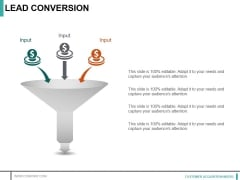 Lead Conversion Template 2 Ppt PowerPoint Presentation File Guidelines
