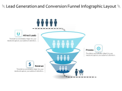 Lead Generation And Conversion Funnel Infographic Layout Ppt PowerPoint Presentation File Background PDF