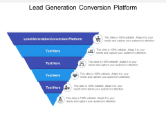 Lead Generation Conversion Platform Ppt PowerPoint Presentation Gallery Background Images Cpb Pdf