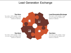 Lead Generation Exchange Ppt PowerPoint Presentation Gallery Graphics Example Cpb