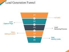 Lead Generation Funnel Ppt PowerPoint Presentation Professional Format Ideas