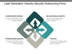 lead generation industry security outsourcing firms professional development ppt powerpoint presentation styles guide