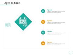 Lead Generation Initiatives Through Chatbots Agenda Slide Ppt Outline Graphics PDF