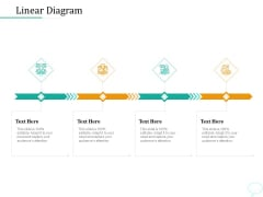Lead Generation Initiatives Through Chatbots Linear Diagram Ppt Infographics Aids PDF