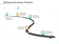 Lead Generation Initiatives Through Chatbots Marketing Roadmap Template Ppt Outline Objects PDF