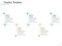 Lead Generation Initiatives Through Chatbots Timeline Template Ppt File Maker PDF
