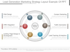 Lead Generation Marketing Strategy Layout Example Of Ppt