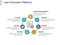 Lead Generation Platforms Ppt PowerPoint Presentation Icon Maker Cpb