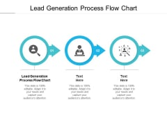 Lead Generation Process Flow Chart Ppt PowerPoint Presentation Gallery Styles Cpb