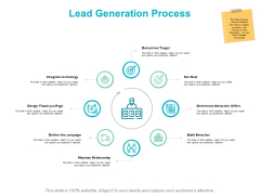 Lead Generation Process Ppt PowerPoint Presentation Ideas Show