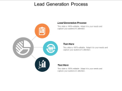 Lead Generation Process Ppt PowerPoint Presentation Model Graphics Example Cpb