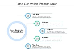 Lead Generation Process Sales Ppt PowerPoint Presentation Pictures Show Cpb