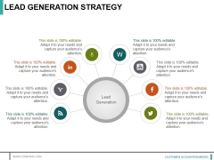 Lead Generation Strategy Ppt PowerPoint Presentation Infographic Template Templates