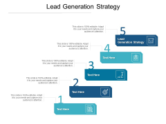Lead Generation Strategy Ppt PowerPoint Presentation Summary Graphics Template Cpb Pdf