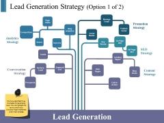 Lead Generation Strategy Template 1 Ppt PowerPoint Presentation Portfolio Inspiration