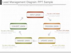 Lead Management Diagram Ppt Sample